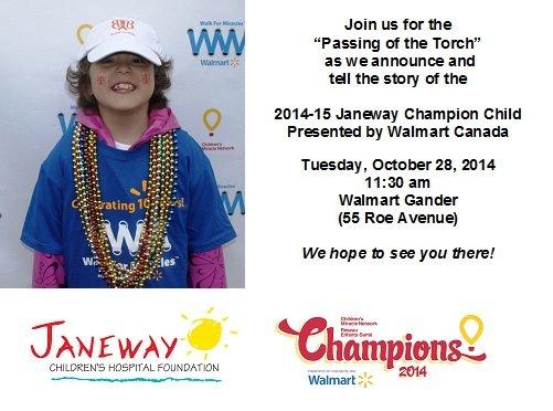 Walmart - Champions 2014-15 Launch - Evite