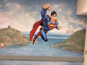 Superman Narrows Mural