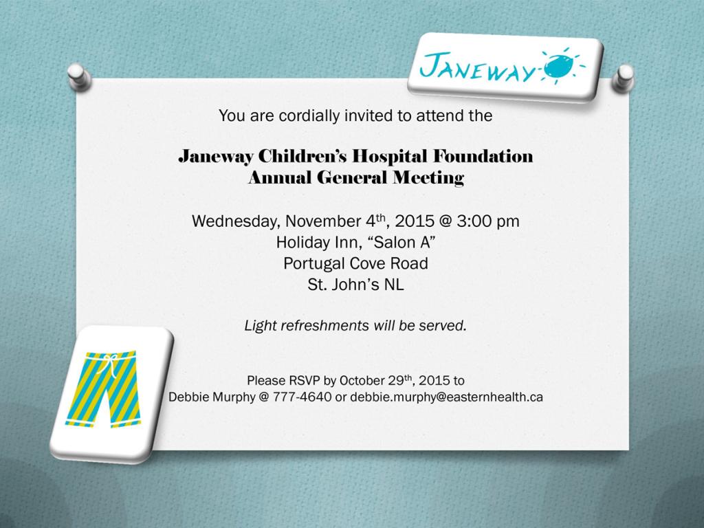 AGM 2015 invite