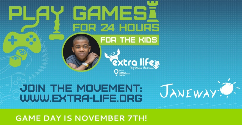 Extra Life 2015 - Promos (Image Janeway)