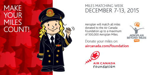 Air Canada - Matching Miles 2015 - Image (FB)
