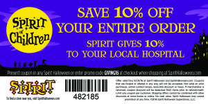 Spirit of Children 2016 - Coupon